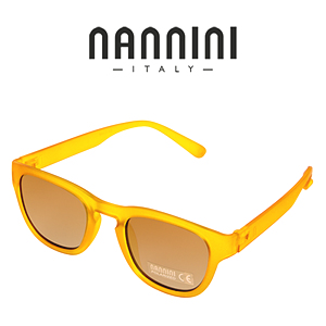 [NANNINI] PARIS / Transp. Honey - Revo Golden Polar Lense